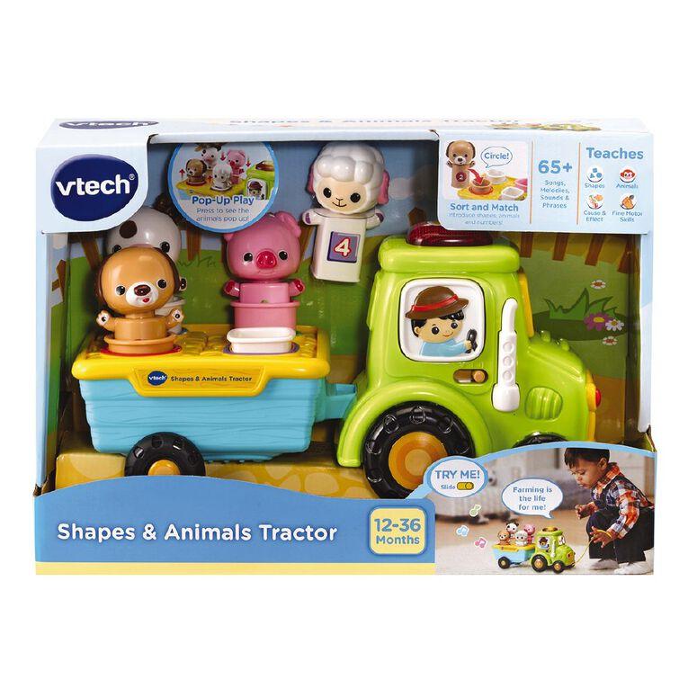 Vtech Shapes & Animal Tractor, , hi-res