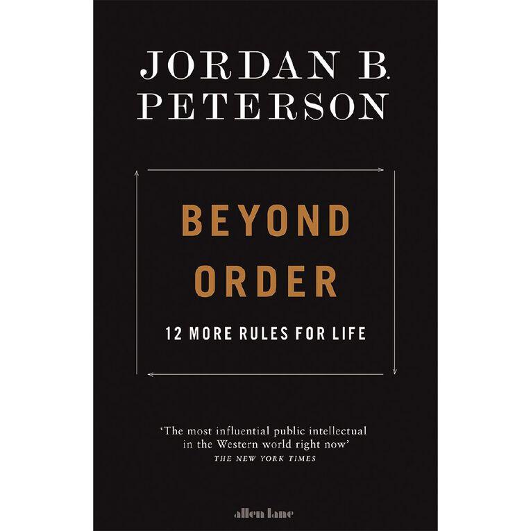 Beyond Order by Jordan B Peterson, , hi-res