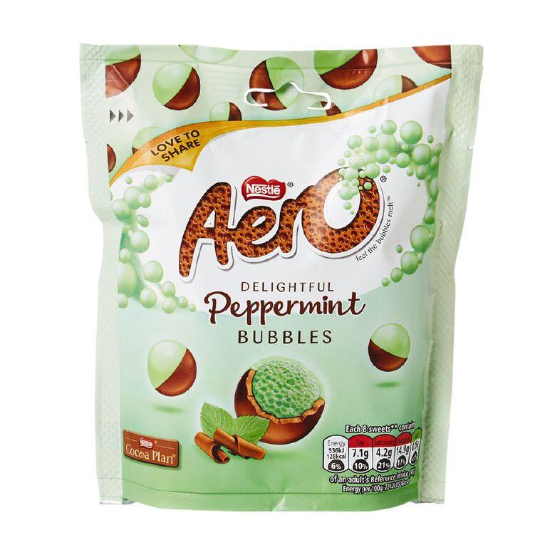 Nestle Aero Bubbles Mint Pouch 102g, , hi-res
