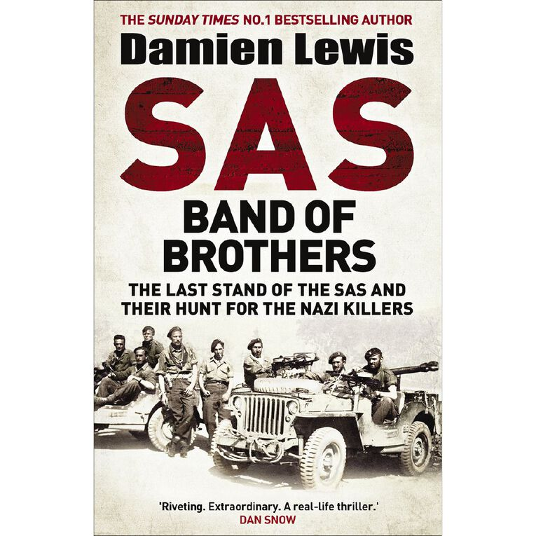 SAS Band of Brothers by Damien Lewis, , hi-res image number null
