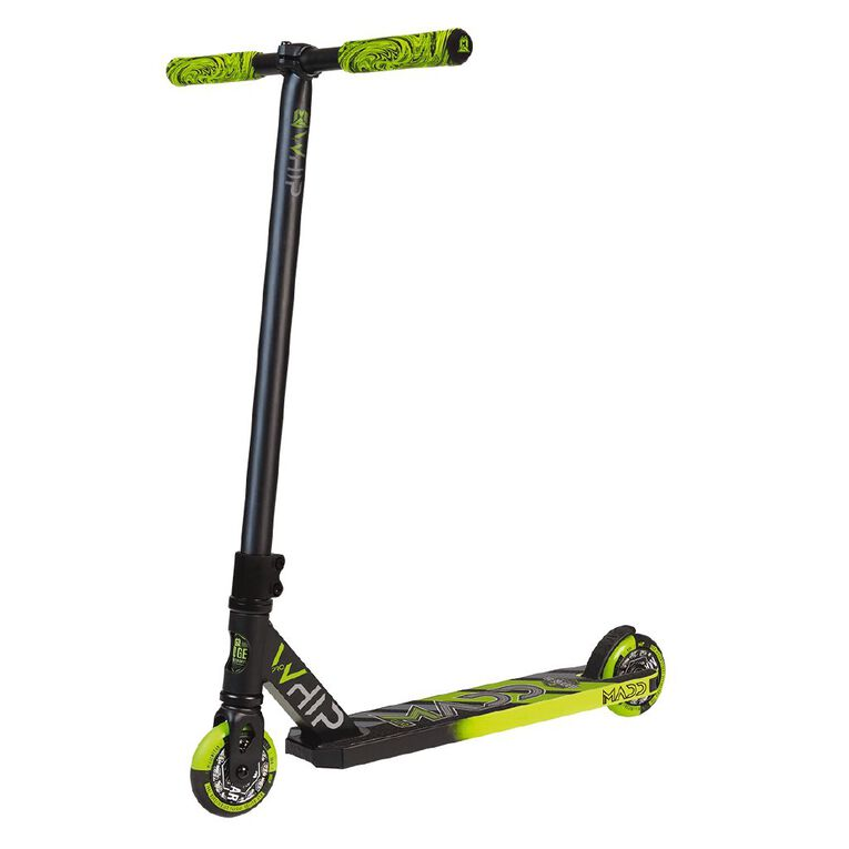 MADD Whip Pro 2020 2 Piece Bar Scooter Black/Green, , hi-res image number null