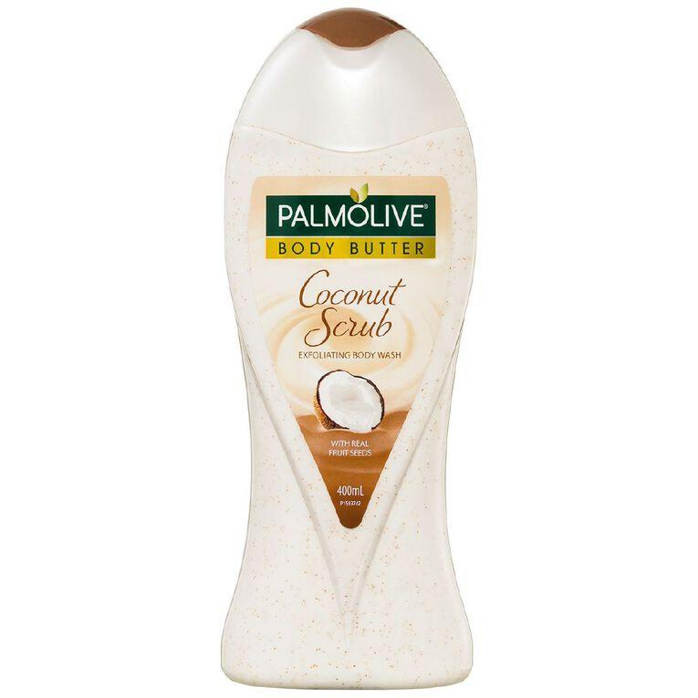 Palmolive Coconut Body Butter Scrub 400ml, , hi-res