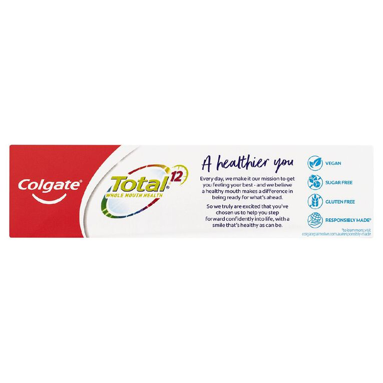 Colgate Total Toothpaste Charcoal Deep Clean 115g, , hi-res image number null