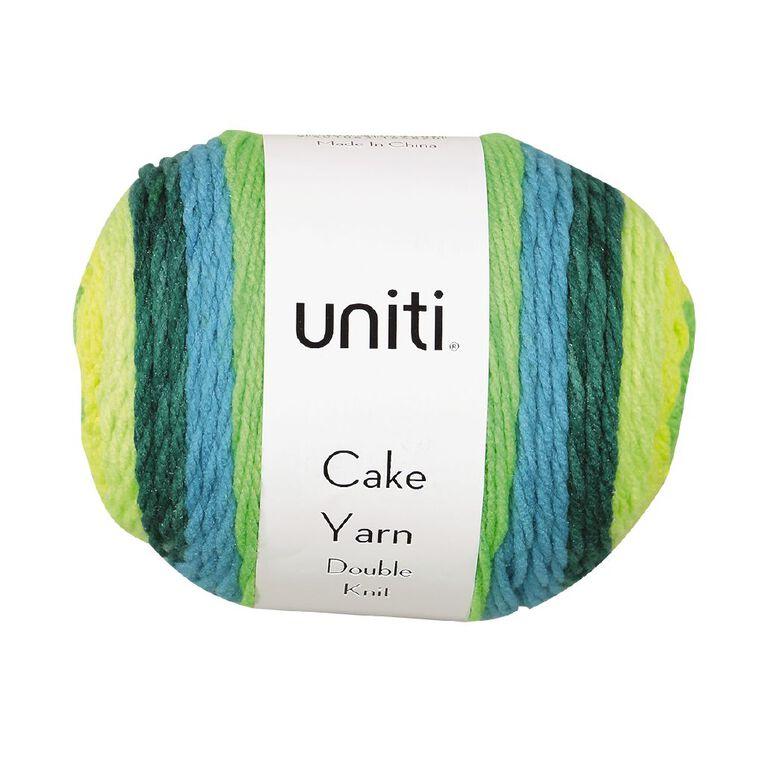 Uniti Yarn Cake Double Knit 200g Lime 200g, , hi-res