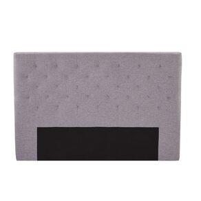 Living & Co Tufted Fabric Headboard Charcoal King