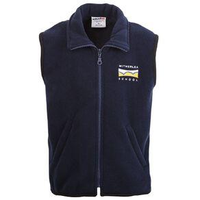 Schooltex Witherlea School Polar Fleece Vest with Embroidery