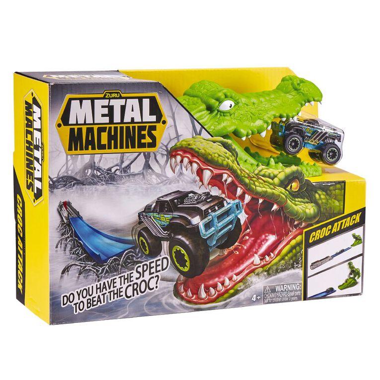 Zuru Metal Machines Playset Crocodile, , hi-res