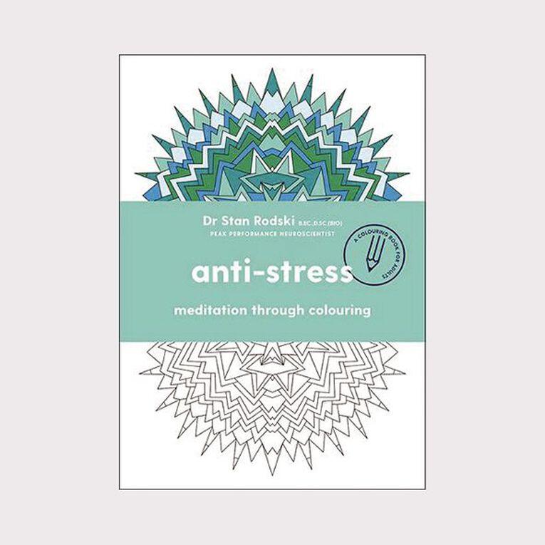 Anti-Stress by Dr Stan Rodski, , hi-res