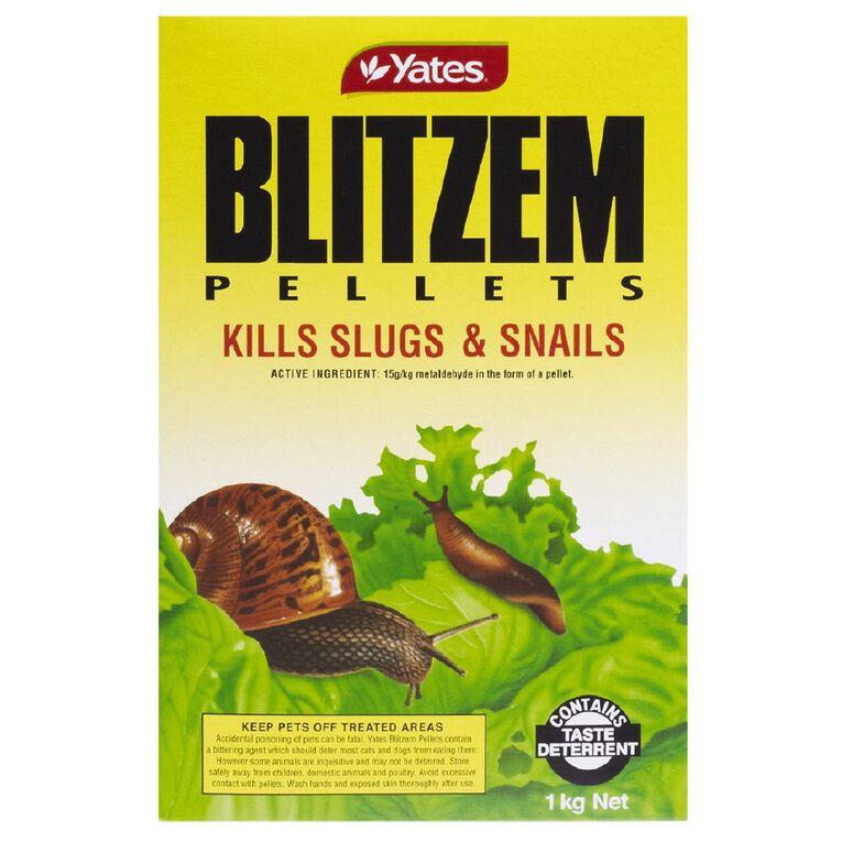 Yates Blitzem Slug and Snail Control 1kg, , hi-res