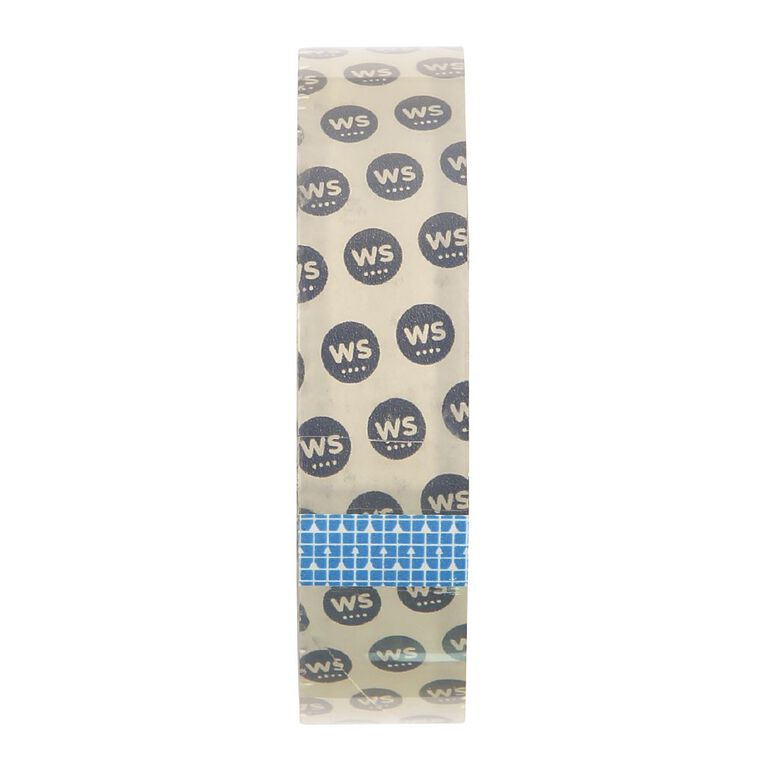 WS Office Tape 25mm x 66m Large Core Clear, , hi-res
