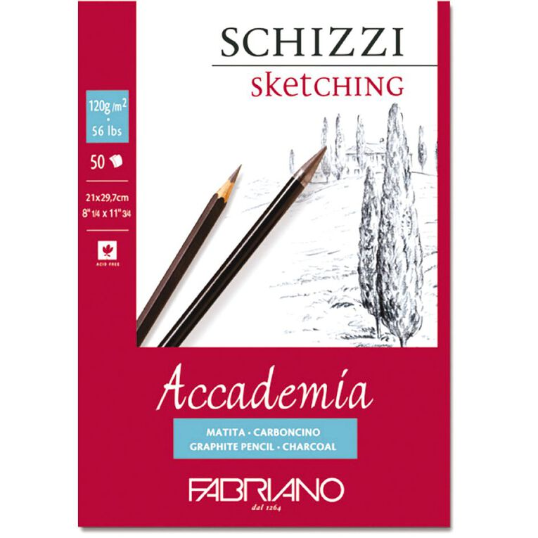Fabriano Accademia 120gsm A4, , hi-res