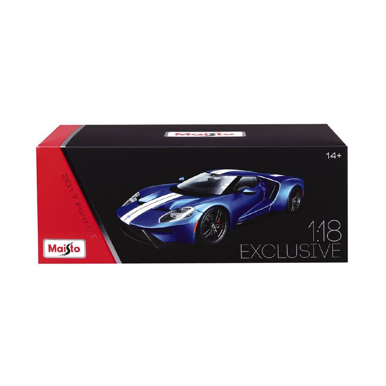 Maisto 1:18 Scale 2017 Ford GT Exclusive, , hi-res