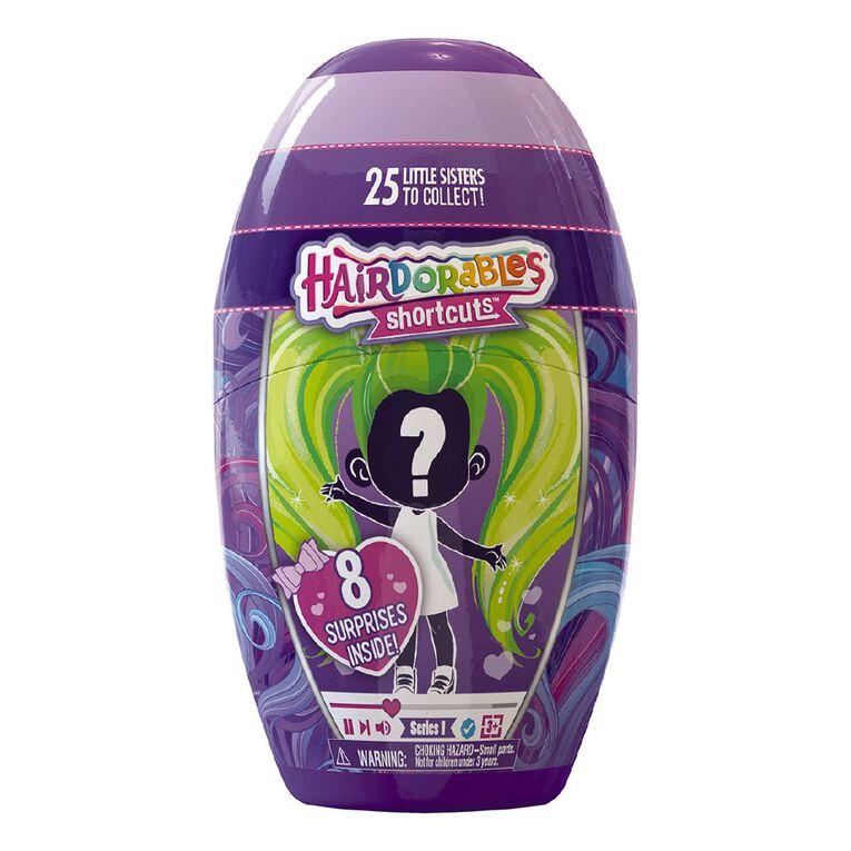 Hairdorables Shortcuts Assorted, , hi-res