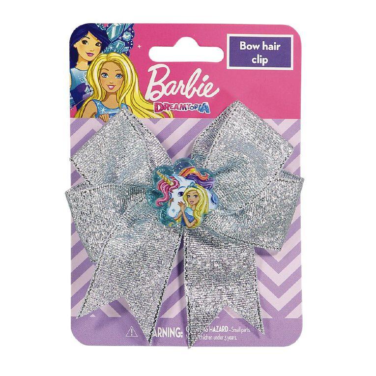 Barbie Single Bow Clip Assorted, , hi-res