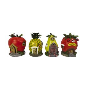 Kiwi Garden Solar Fruit Gnome Home