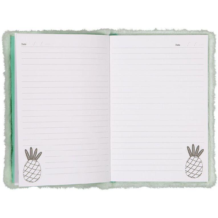 Kookie Novelty Notebook Hardcover Pineapple Green Light, , hi-res