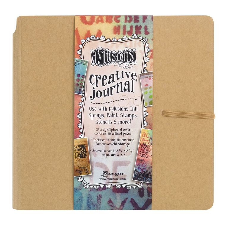 Ranger Dylusions Journal Creative Journal Square, , hi-res