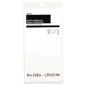 Unique Tablecover White 137 x 274cm