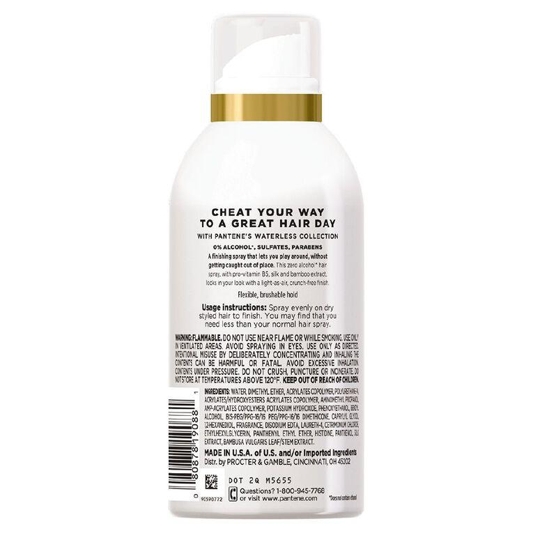 Pantene Never Stray Hair Spray 160ml, , hi-res