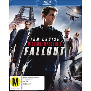 Mission Impossible 6 Fall Out Blu-ray 1Disc