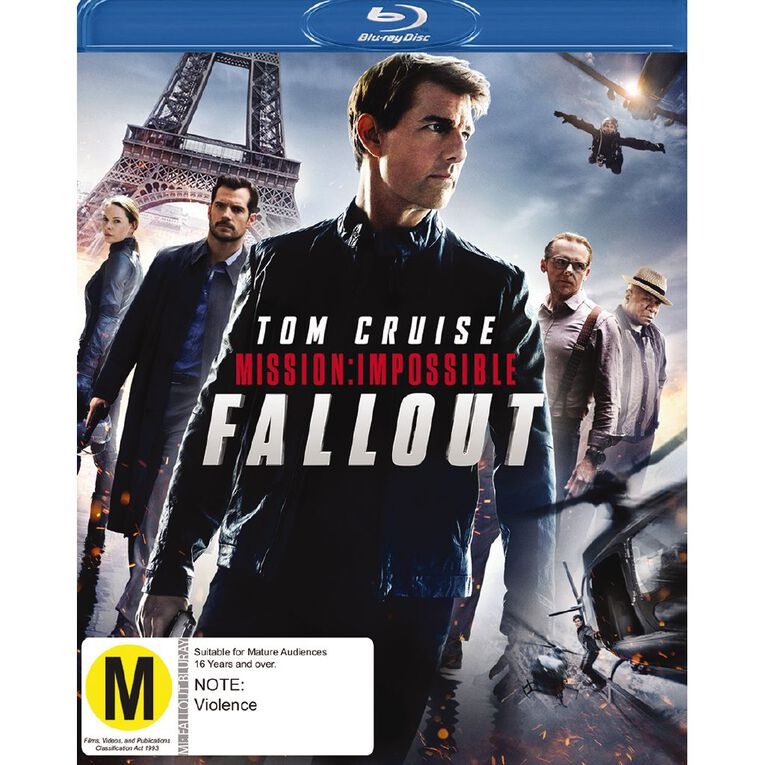 Mission Impossible 6 Fall Out Blu-ray 1Disc, , hi-res