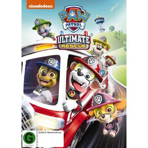 Paw Patrol Ultimate Rescues DVD 1Disc