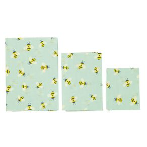 Living & Co Bees Wax Food Wraps Buzzy Bees Starter Set 3 Pack