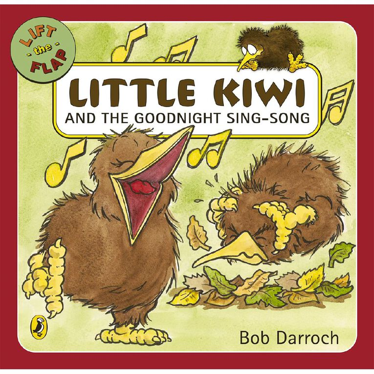 Little Kiwi and the Goodnight Sing-Song by Bob Darroch, , hi-res