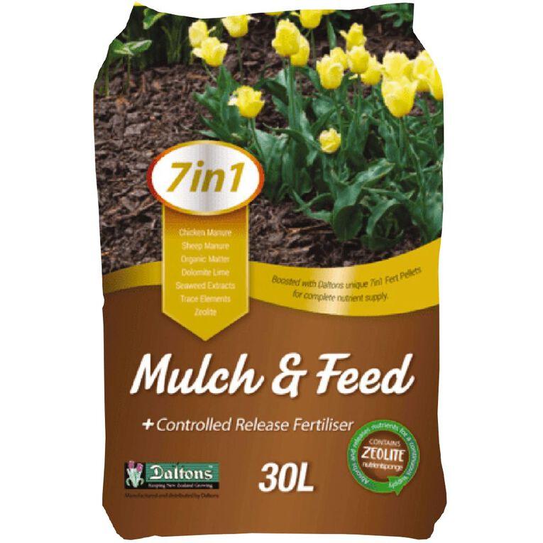 Daltons 7-in-1 Mulch & Feed 30L, , hi-res