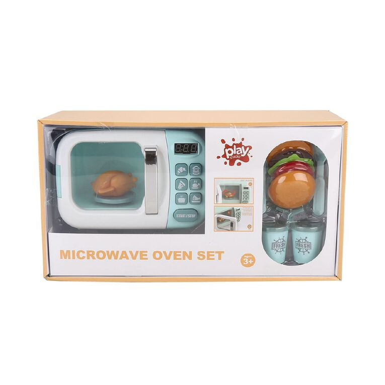 Play Studio Microwave Oven Set, , hi-res