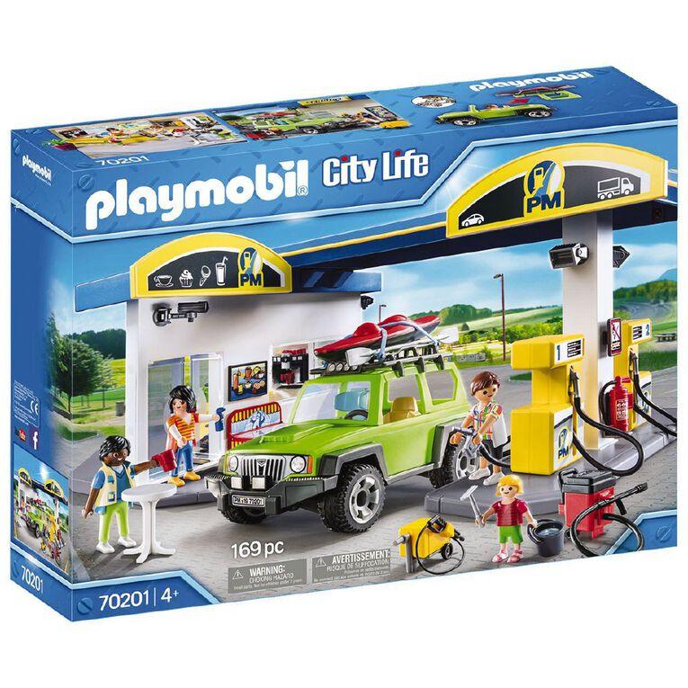 Playmobil Gas Station, , hi-res