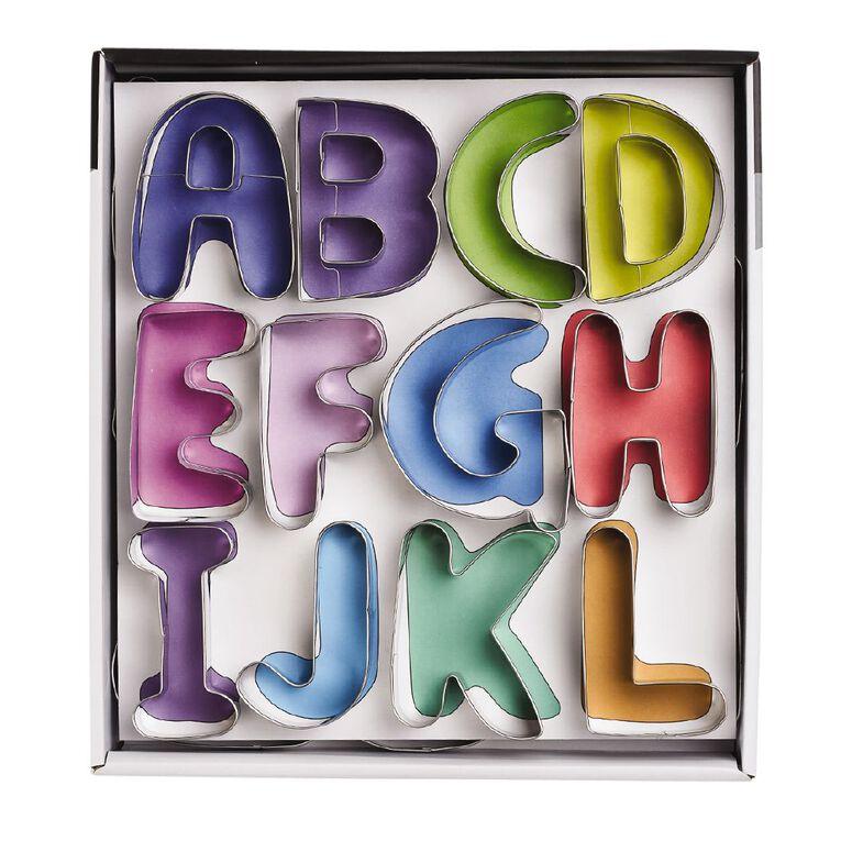 Living & Co Alphabet Cookie Cutters, , hi-res