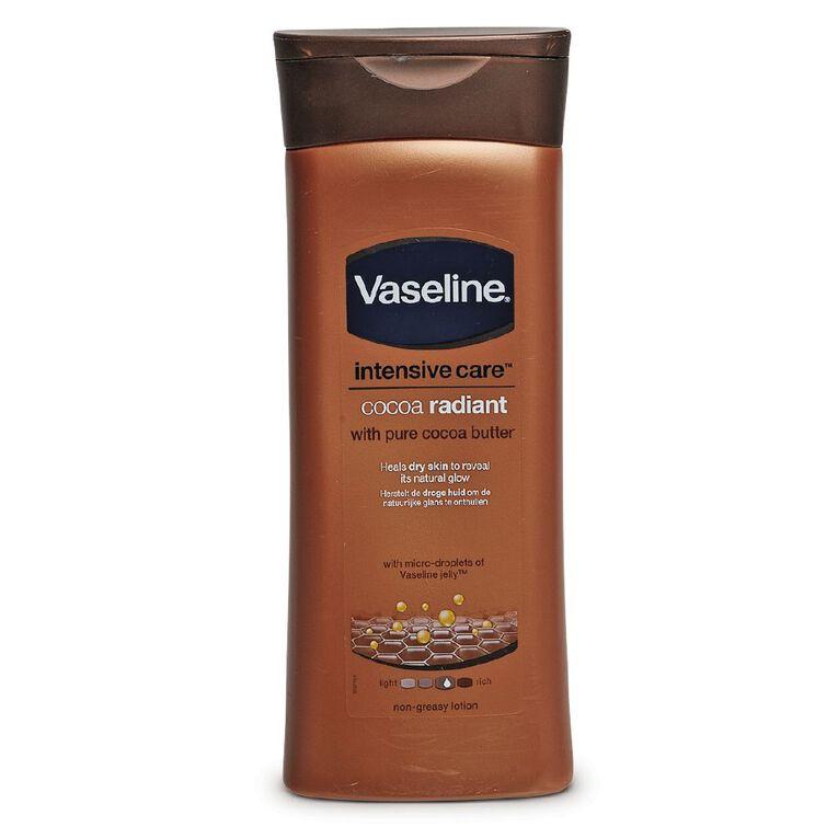 Vaseline Cocoa Radiant Body Lotion 400ml, , hi-res