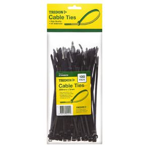 Tridon Cable Tie 200mm x 5mm Black