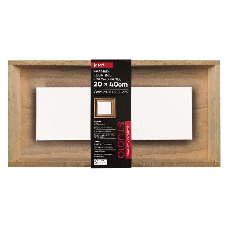 Jasart Framed Floating Canvas Panel 20x40cm, , hi-res