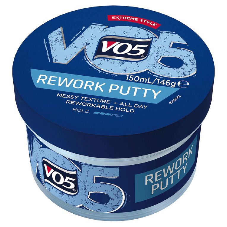 VO5 Extreme Style Rework Putty 150ml, , hi-res