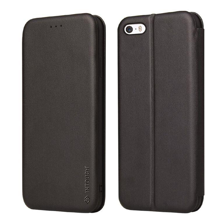 INTOUCH iPhone 7/8/SE Milano Wallet Case Black, , hi-res
