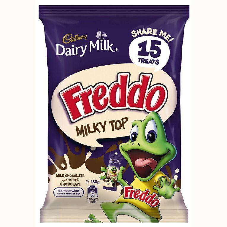 Cadbury Dairy Milk Freddo Milky Top Treat Size 180g, , hi-res