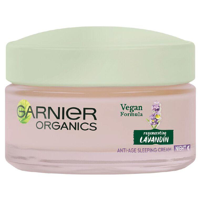 Garnier Organics Lavandin Night Cream 50ml, , hi-res