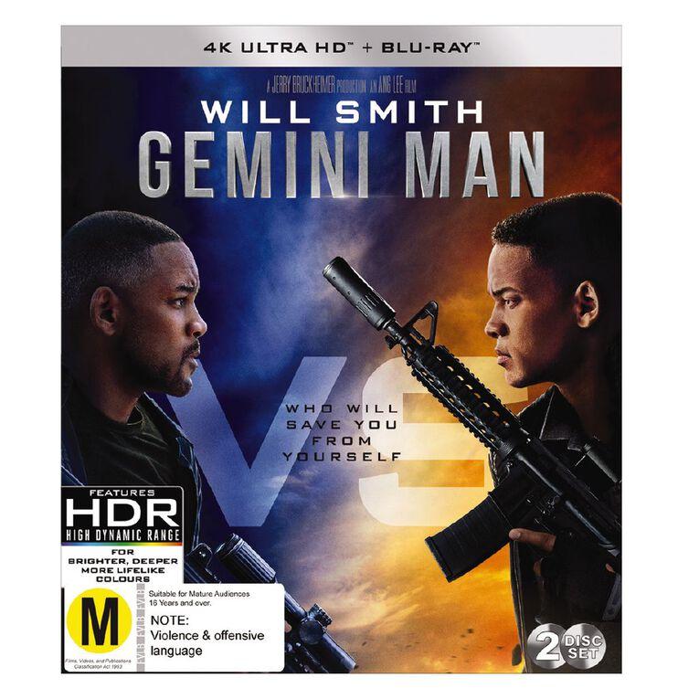 Gemini Man 4K Blu-ray 2Disc, , hi-res