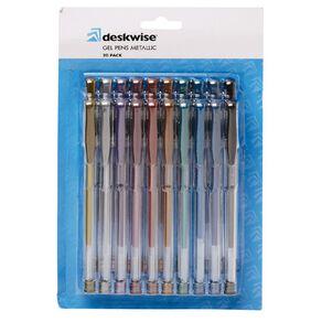 WS Gel Pens Metallic Mixed Assortment 20 Pack