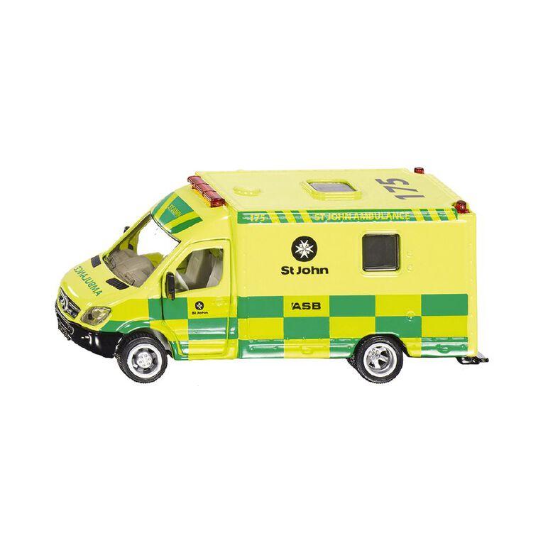 Siku St John Ambulance 1:50 Scale, , hi-res