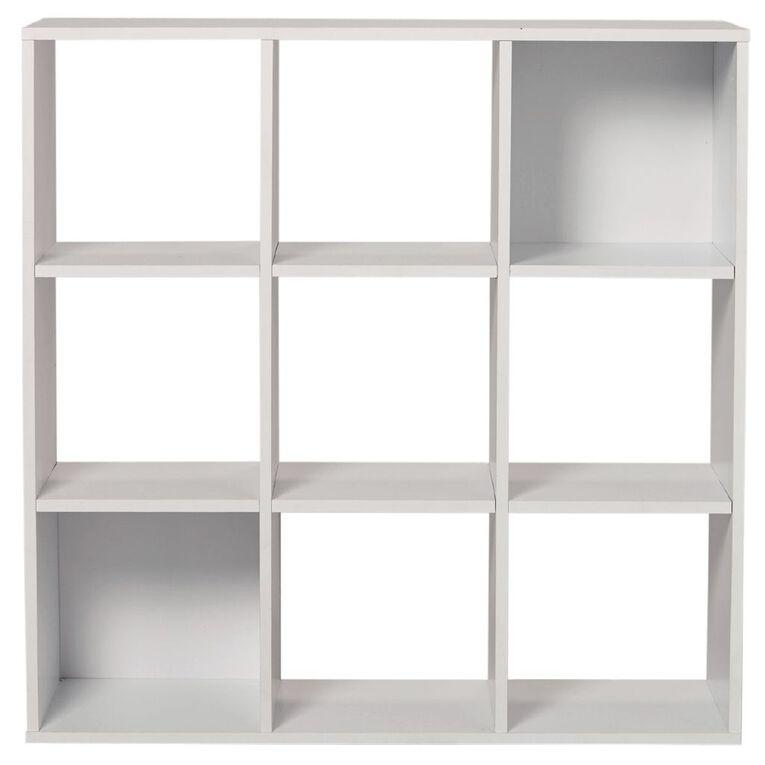 Living & Co Mason 9 Cube White, , hi-res