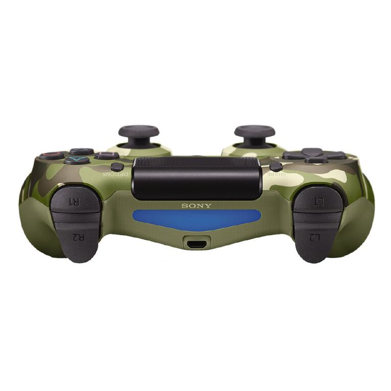 PS4 DualShock 4 Limited Edition Green Camo, , hi-res image number null