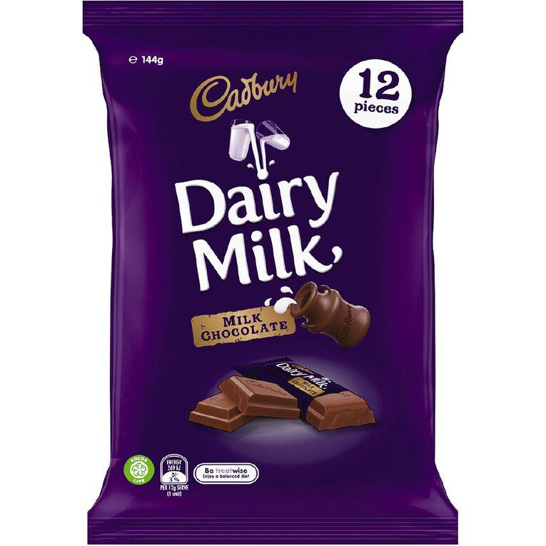 Cadbury Dairy Milk Sharepack 144g, , hi-res