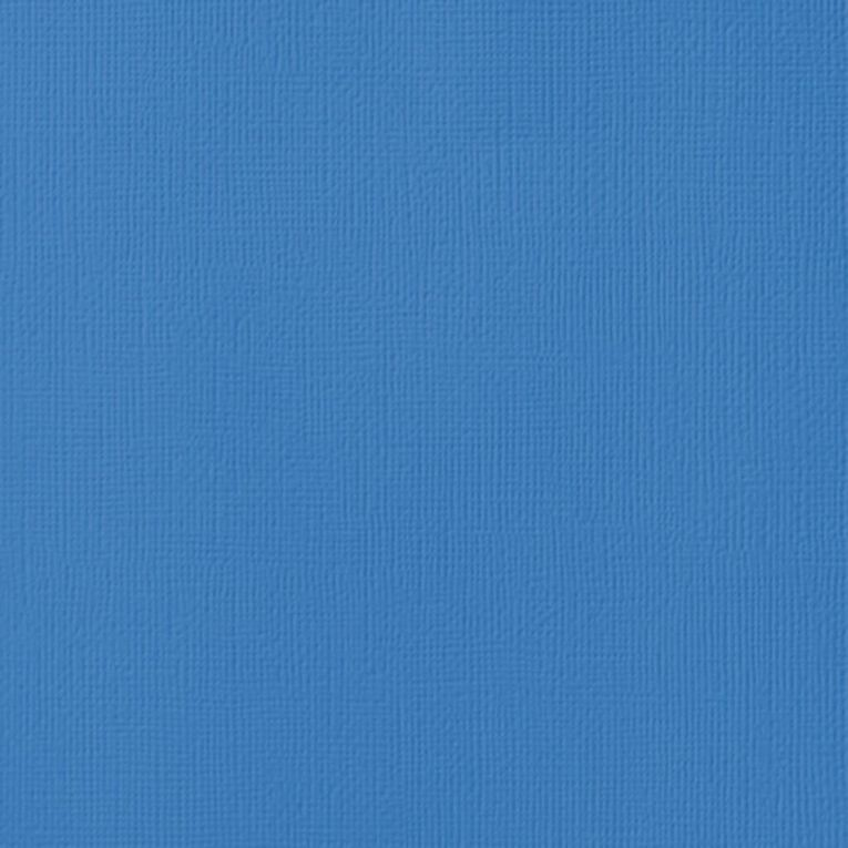 American Crafts Cardstock Textured Wave Blue 12in x 12in, , hi-res