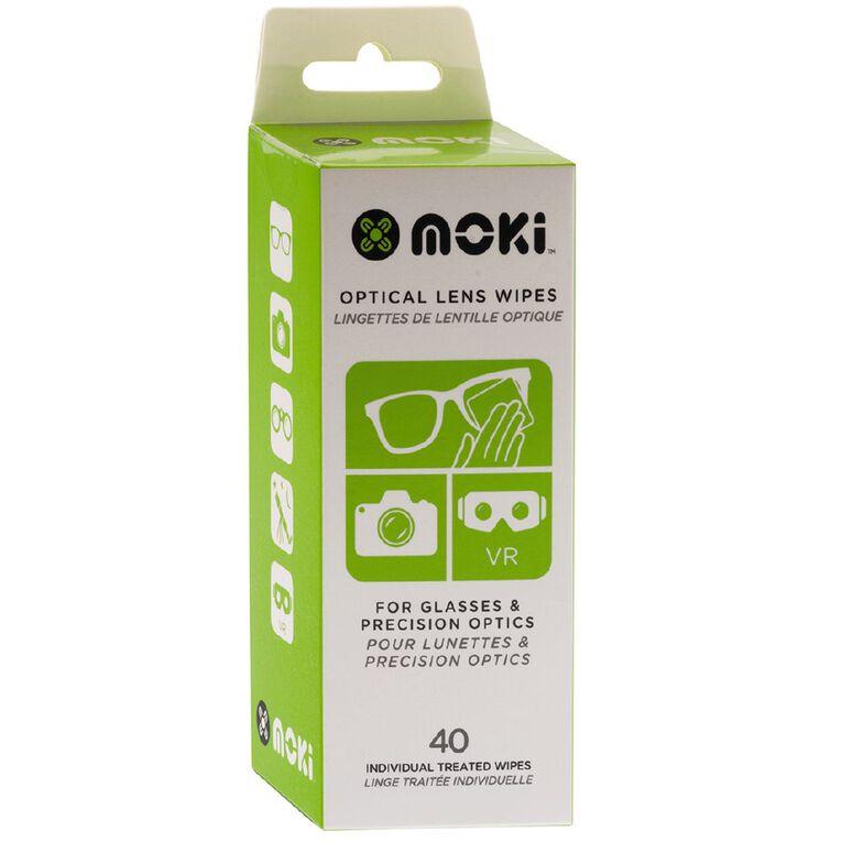 Moki Optical Lens Wipes 40 Pack, , hi-res