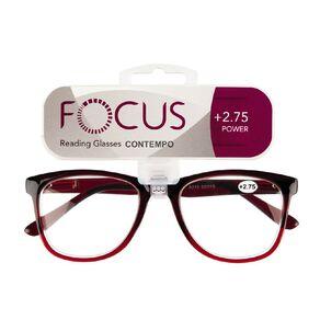 Focus Reading Glasses Contempo 2.75