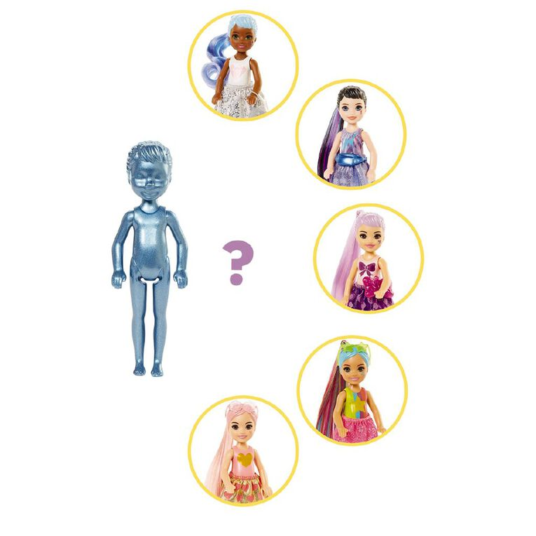 Barbie Colour Reveal Chelsea Shimmer Series Assorted, , hi-res