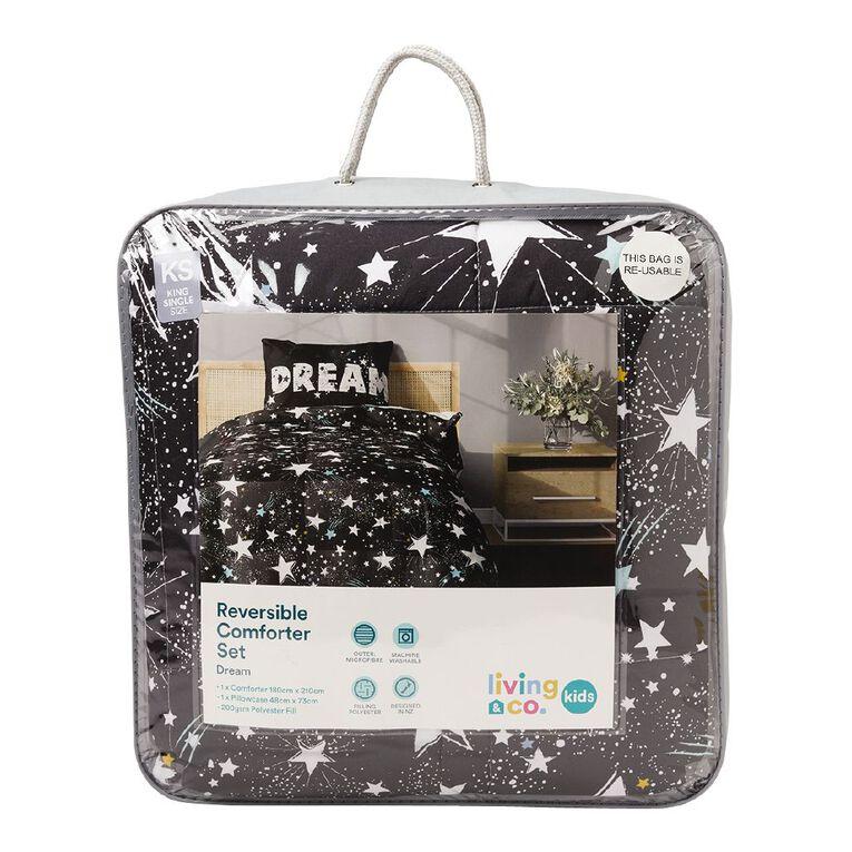 Living & Co Kids Comforter Set Dream King Single, , hi-res